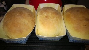 Paska loaves